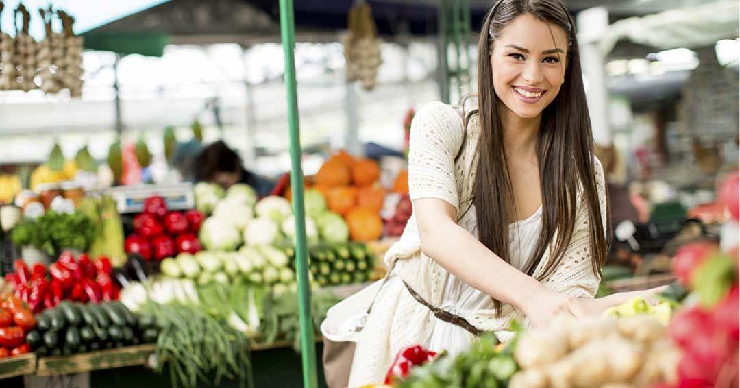 Alimentos para mejorar el aparato respiratorio. Mercado Delicias Zaragoza